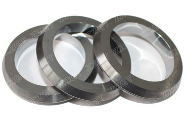 ISO Abrasive Performance Tungsten Carbide Rings Three Dimensions Rolls