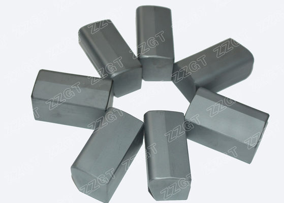 Hard Metal Carbide Cutters For Trenching Machine , High Wear Resistance