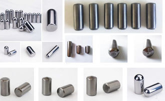 K40 Spherical Tungsten Carbide Studs , Tungsten Carbide Pins For Metso HPGR