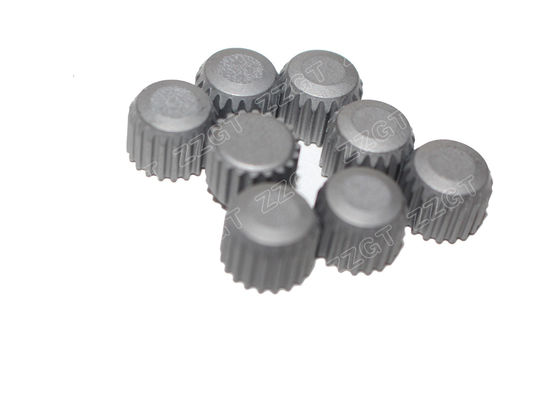Serrated Flat Top Gauge Button Tungsten Carbide Mining Bits For Drill Bits