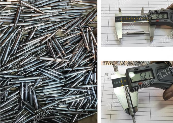 Customized Tungsten Carbide Products Punching Needle Forming Pin With Polished Surface